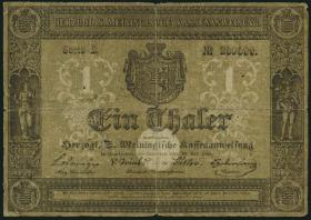 A-452 Sachsen - Meiningen 1 Thaler 1849 (4)