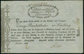 A-481b Schleswig - Holstein 2 Reichsthaler 24 Schilling 1808 (2)