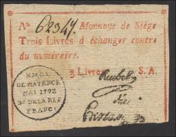 A-596 Preußen 3 Livres 1793 (3-)