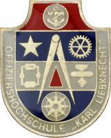 Absolventenabzeichen Marine Offiziershochschule
