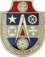 Absolventenabzeichen Marine MUSTER