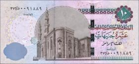 Ägypten / Egypt P.64e 10 Pounds 2015 (1)