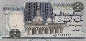 Ägypten / Egypt P.59 5 Pounds (1989-2001)