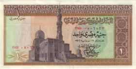 Ägypten / Egypt P.44 1 Pound 1967-78 (2)
