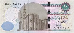 Ägypten / Egypt P.Neu 10 Pounds 2017 (1)