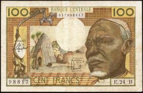 Äquat.-Afrikan.-Staaten P.3b 100 Francs (1963) B (3)