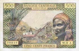 Äquat.-Afrikan.-Staaten P.04e 500 Francs (1963) (1/1-)