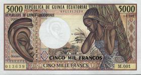 Äquatorial-Guinea P.22a 5000 Francs 1985 (1)
