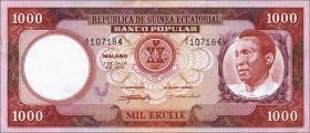 Äquatorial-Guinea P.08 1000 Ekuele 1975 (2)