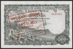 Äquatorial-Guinea P.19 5000 Bipkwele 1980 (1)