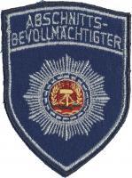 Ärmelabzeichen Abschnittsbevollmächtigter (blau)