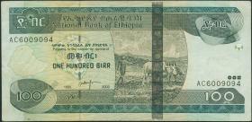 Äthiopien / Ethiopia P.52a 100 Birr 2003 (3)