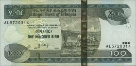 Äthiopien / Ethiopia P.52b 100 Birr 2004 (1)
