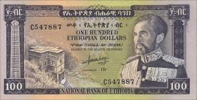 Äthiopien / Ethiopia P.29 100 Dollars (1966) (1/1-)