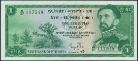 Äthiopien / Ethiopia P.18 1 Dollar (1961) (2)
