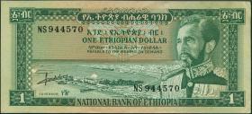 Äthiopien / Ethiopia P.25 1 Dollar (1966) (1/1-)