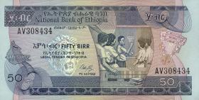 Äthiopien / Ethiopia P.44a 50 Birr (1991) (1)
