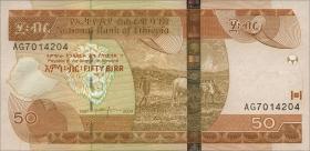 Äthiopien / Ethiopia P.51b 50 Birr 2004-2006 (1)