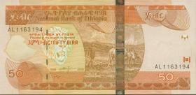 Äthiopien / Ethiopia P.51c 50 Birr 2006 (1)