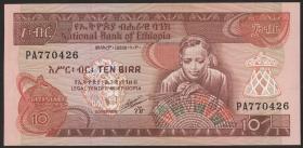 Äthiopien / Ethiopia P.43b 10 Birr (1991) (1)