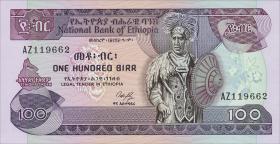 Äthiopien / Ethiopia P.40 100 Birr (1987) (1)