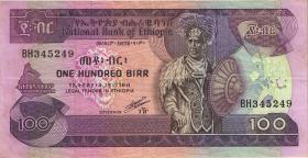Äthiopien / Ethiopia P.45b 100 Birr (1991) (3)
