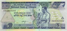 Äthiopien / Ethiopia P.47d 5 Birr 2006 (1)