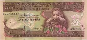 Äthiopien / Ethiopia P.48e 10 Birr 2008 (1)