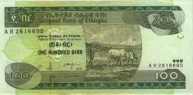 Äthiopien / Ethiopia P.50b 100 Birr 2000 (2)
