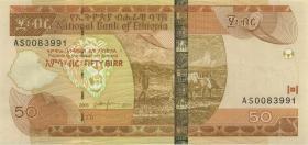 Äthiopien / Ethiopia P.51e 50 Birr 2011 (1)