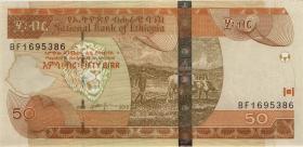 Äthiopien / Ethiopia P.51f 50 Birr 2012 (1)