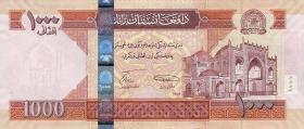 Afghanistan P.77a 1000 Afghanis 2008 (1)
