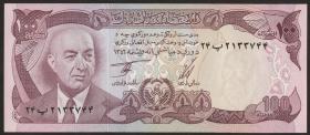 Afghanistan P.50c 100 Afghanis (1977) (1)