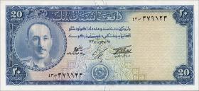 Afghanistan P.31d 20 Afghanis (1957) (1)