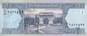 Afghanistan P.65a 2 Afghanis (2002) (1)