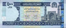 Afghanistan P.71a 500 Afghanis (2002)