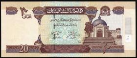 Afghanistan P.68a 20 Afghanis (2002) (1)