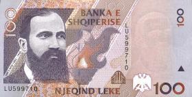 Albanien / Albania P.62 100 Leke 1996 (1)