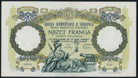 Albanien / Albania P.07 20 Franga (1939) (1/1-)