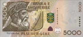 Albanien / Albania P.70 5000 Leke 2001 (1)