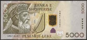 Albanien / Albania P.75 5000 Leke 2007 (1)