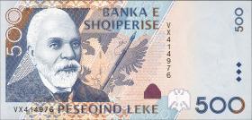 Albanien / Albania P.68 500 Leke 2001