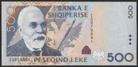 Albanien / Albania P.72 500 Leke 2007 (1)