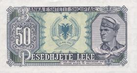 Albanien / Albania P.29a 50 Leke 1957 (1)