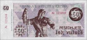 Albanien / Albania P.50a 50 Lek Valute (1992) (1)