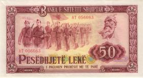Albanien / Albania P.38 50 Leke 1964 (1)