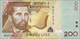 Albanien / Albania P.71b 200 Leke 2012 (1)