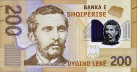 Albanien / Albania P.neu 200 Leke 2017 (2019) Polymer (1)
