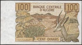 Algerien / Algeria P.128a 100 Dinars 1970 (1)