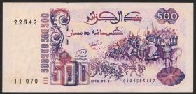 Algerien / Algeria P.139 500 Dinars 1992 (2+)